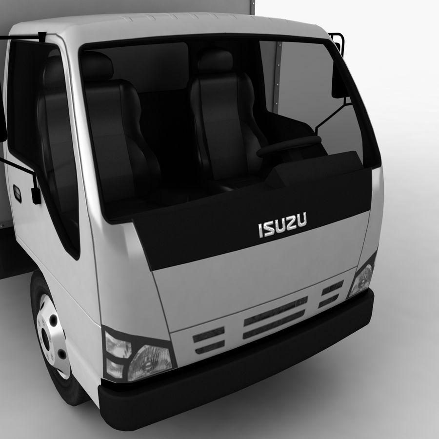 Isuzu Truck royalty-free 3d model - Preview no. 10