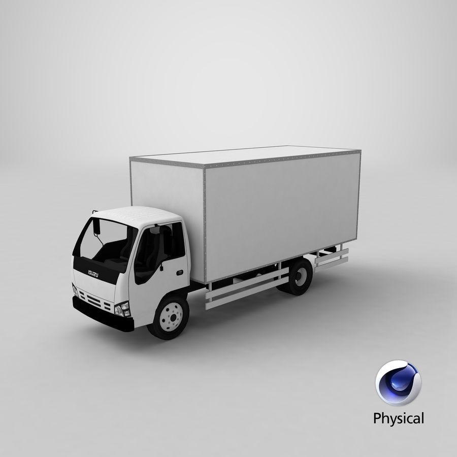 Isuzu Truck royalty-free 3d model - Preview no. 24