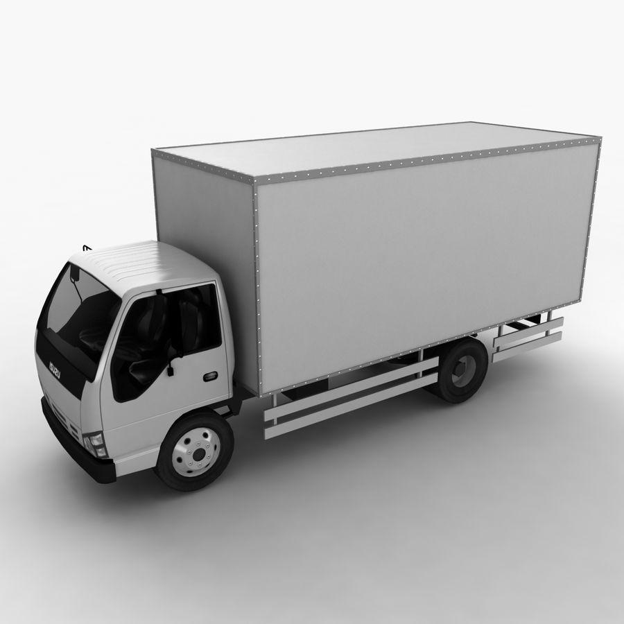 Isuzu Truck royalty-free 3d model - Preview no. 2