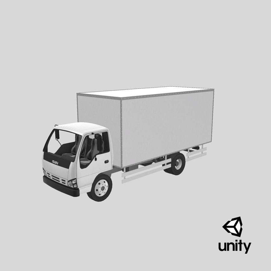 Isuzu Truck royalty-free 3d model - Preview no. 23