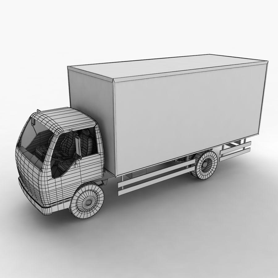 Isuzu Truck royalty-free 3d model - Preview no. 3