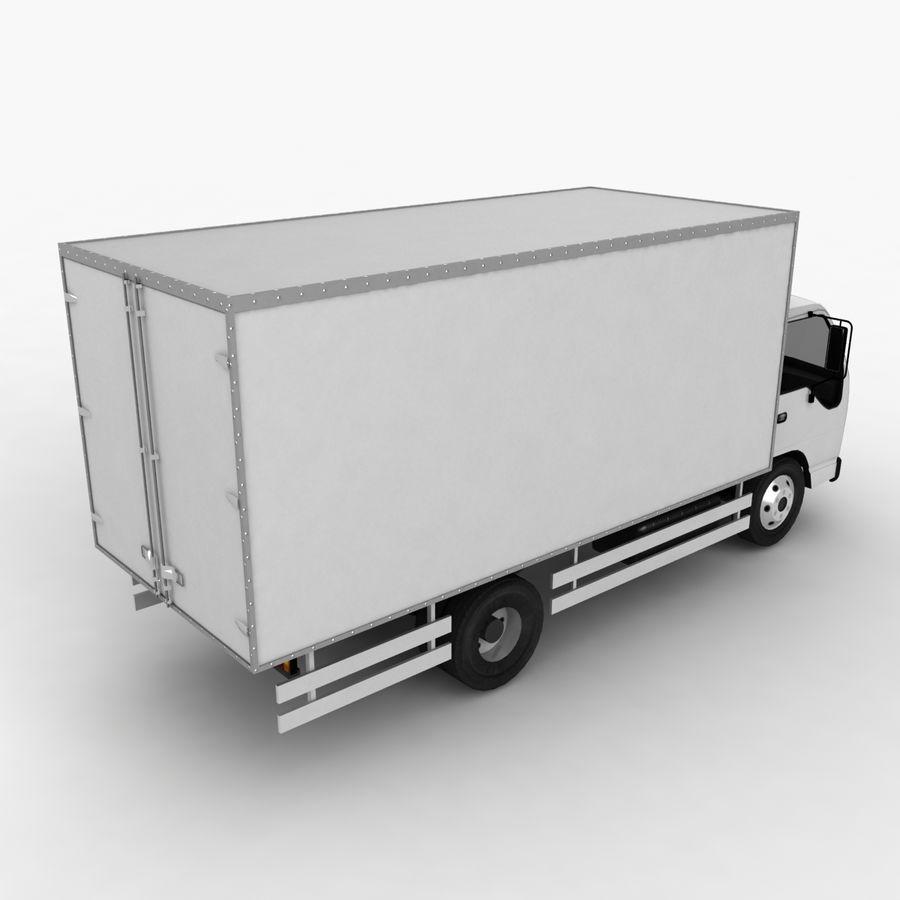 Isuzu Truck royalty-free 3d model - Preview no. 7