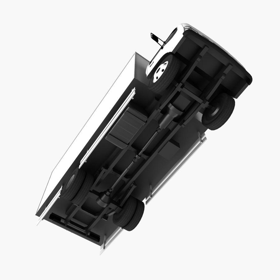 Isuzu Truck royalty-free 3d model - Preview no. 11