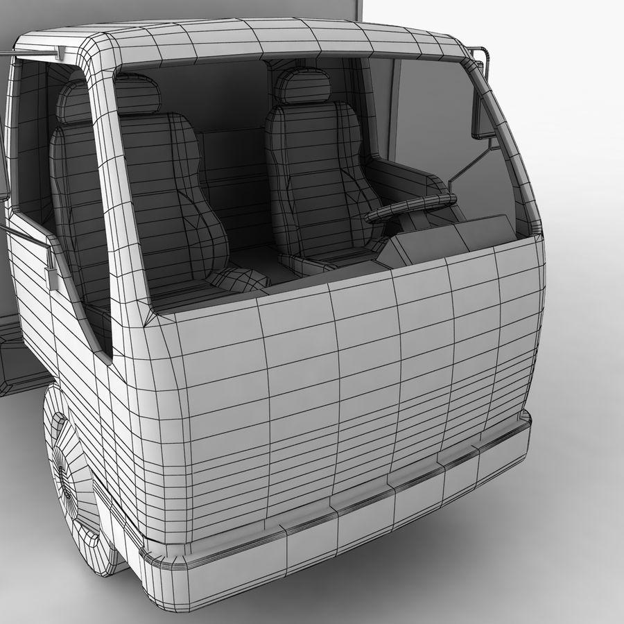Isuzu Truck royalty-free 3d model - Preview no. 16
