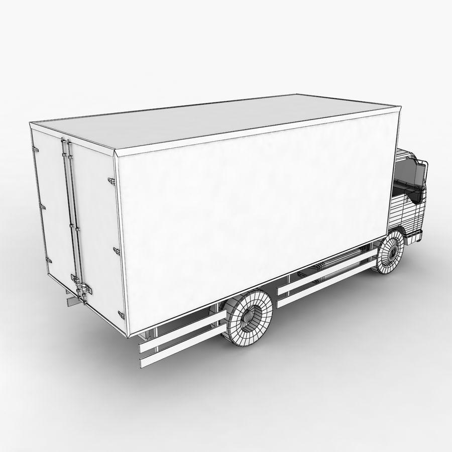 Isuzu Truck royalty-free 3d model - Preview no. 13