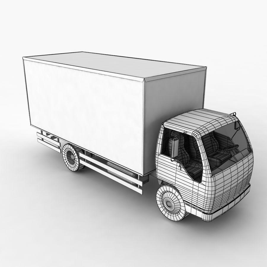 Isuzu Truck royalty-free 3d model - Preview no. 12