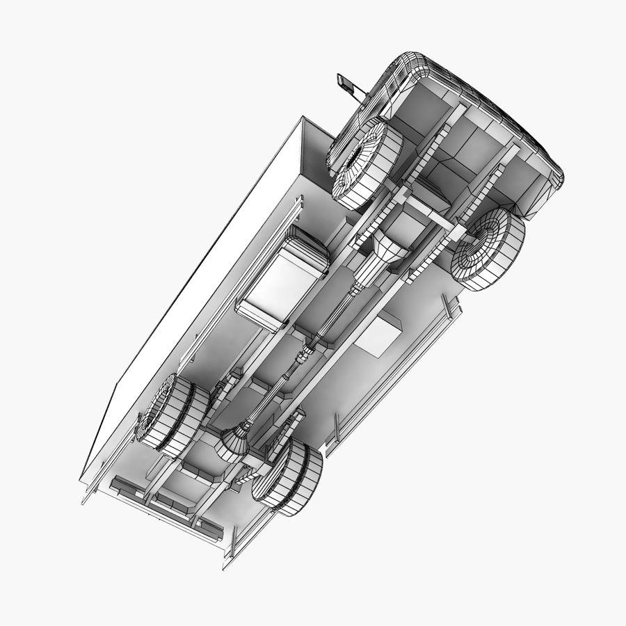 Isuzu Truck royalty-free 3d model - Preview no. 17