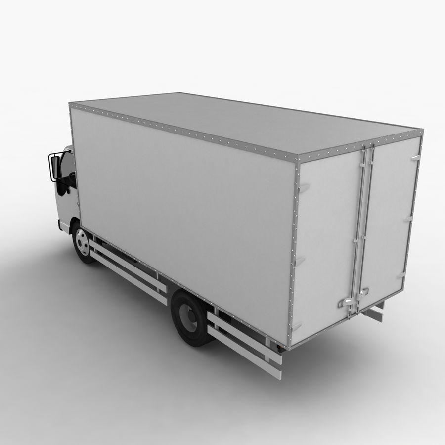 Isuzu Truck royalty-free 3d model - Preview no. 8