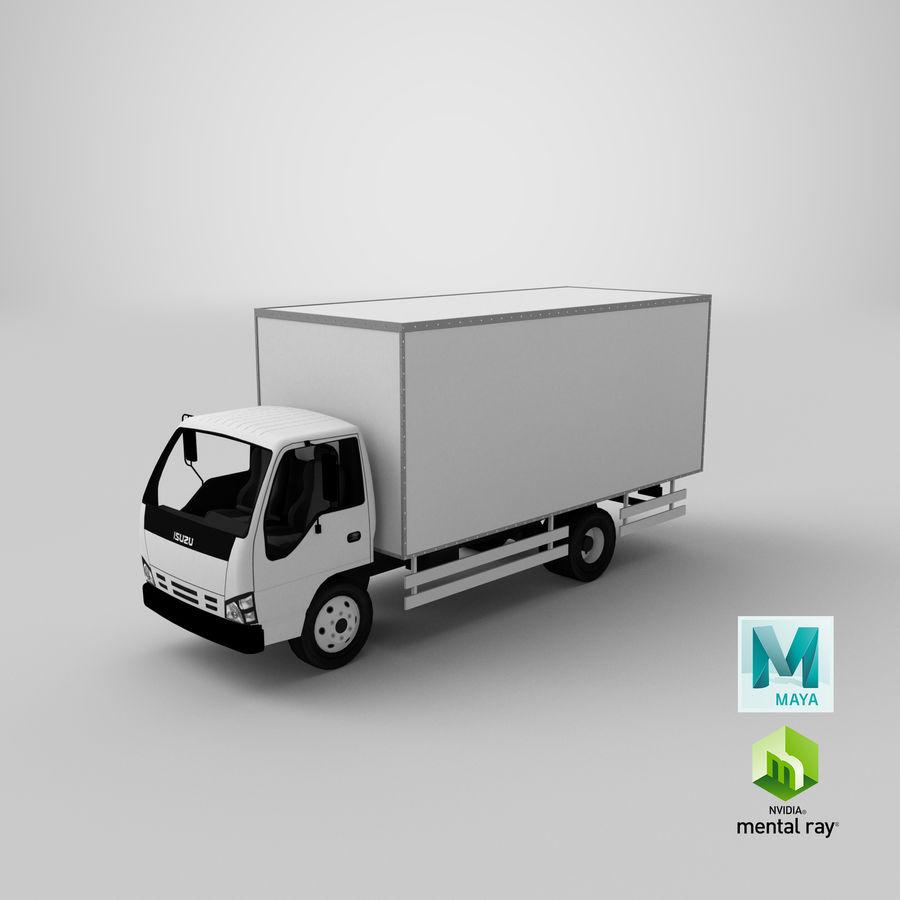 Isuzu Truck royalty-free 3d model - Preview no. 19
