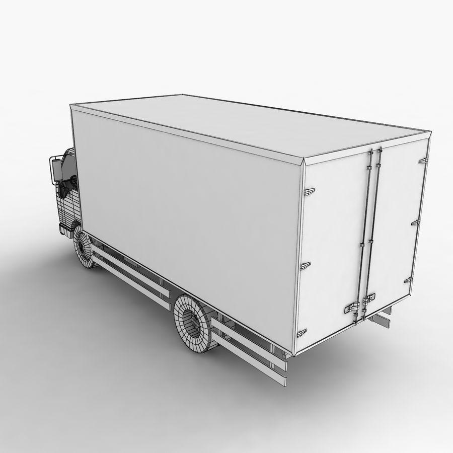 Isuzu Truck royalty-free 3d model - Preview no. 14
