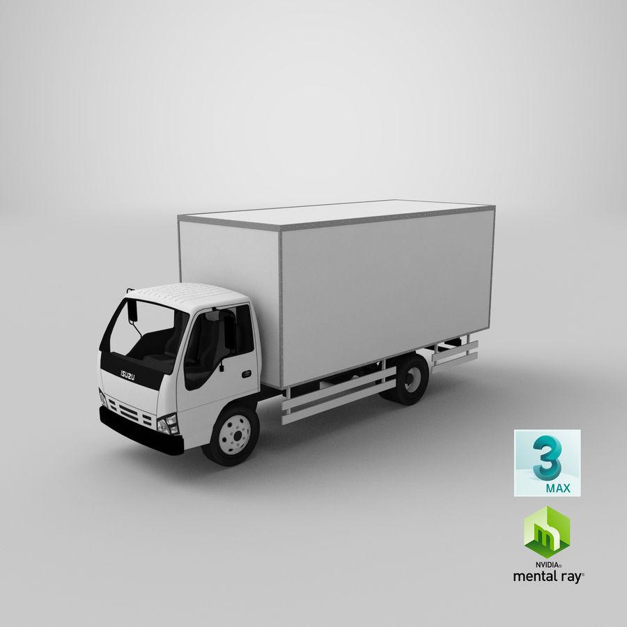 Isuzu Truck royalty-free 3d model - Preview no. 21