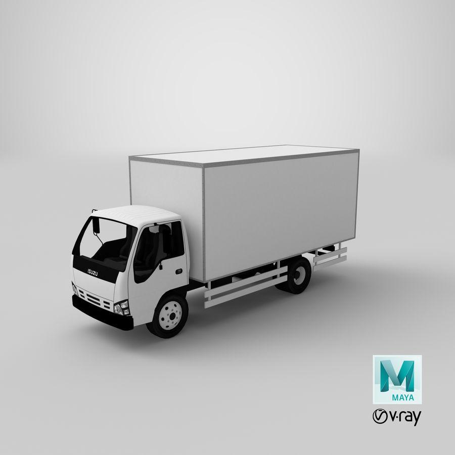 Isuzu Truck royalty-free 3d model - Preview no. 18