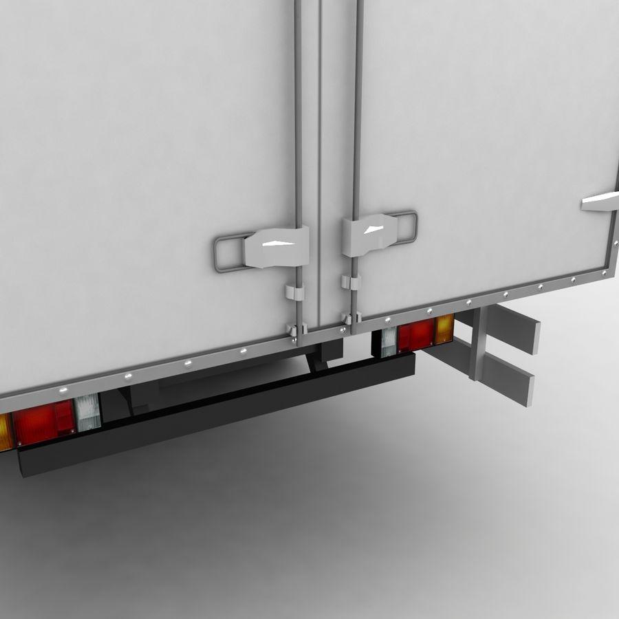 Isuzu Truck royalty-free 3d model - Preview no. 9