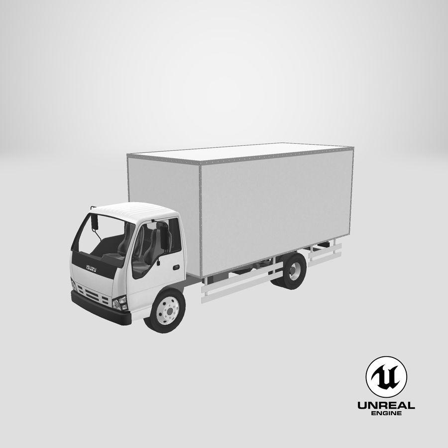 Isuzu Truck royalty-free 3d model - Preview no. 22