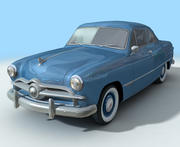 Coche Low Poly Retro modelo 3d