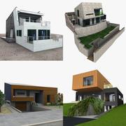 Çağdaş Evler 3d model