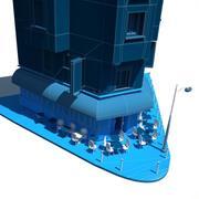 ATTAQUES DU CARILLON CAFE PARIS 3d model