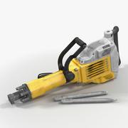 Używany elektryczny młot wyburzeniowy 3d model
