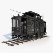 Tram Repair 3d model