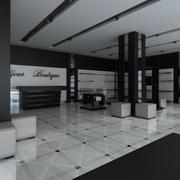 Shoes & Clothing Boutique 3d model