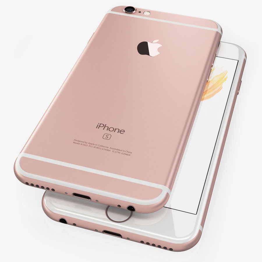Apple Electronics Collection 2016 v1 royalty-free 3d model - Preview no. 13