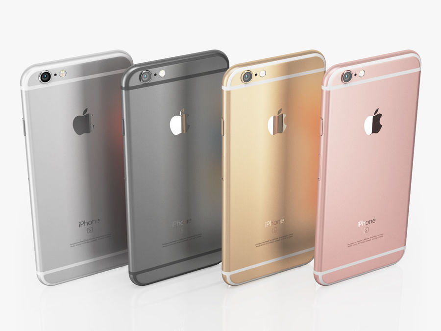 Apple Electronics Collection 2016 v1 royalty-free 3d model - Preview no. 3