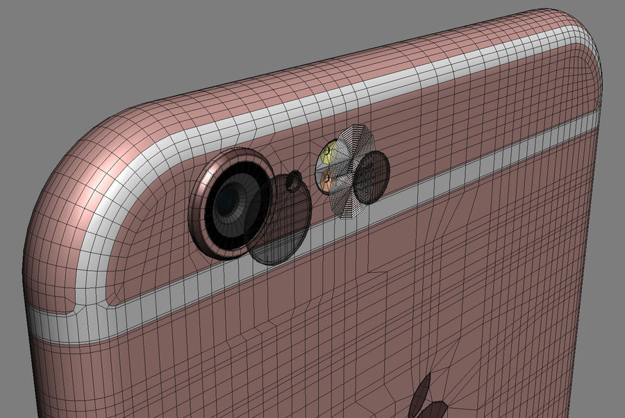 Apple Electronics Collection 2016 v1 royalty-free 3d model - Preview no. 27