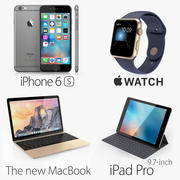 Apple Electronics Collection 2016 v1 3d model