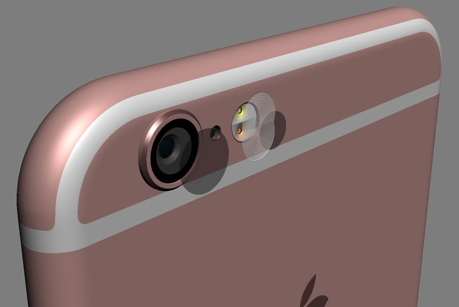 Apple Electronics Collection 2016 v1 royalty-free 3d model - Preview no. 24