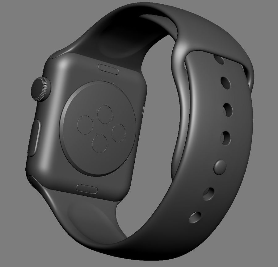 Apple Electronics Collection 2016 v1 royalty-free 3d model - Preview no. 89