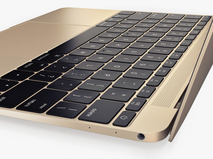 Apple Electronics Collection 2016 v1 royalty-free 3d model - Preview no. 78