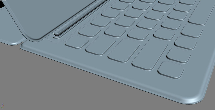 Apple Electronics Collection 2016 v1 royalty-free 3d model - Preview no. 59