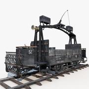 Old Tram Repair 3d model
