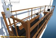 Machine de nettoyage de vitres 3d model