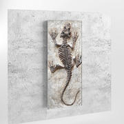 figurine lizard 3d model