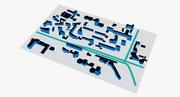 Stedelijke wijk 002 3d model