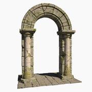 Stone Arch Portal 3d model