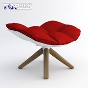 껍질 의자 -3 3d model