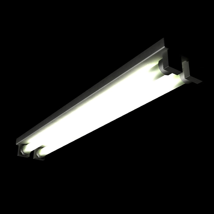 Fluoreszierendes Licht royalty-free 3d model - Preview no. 8