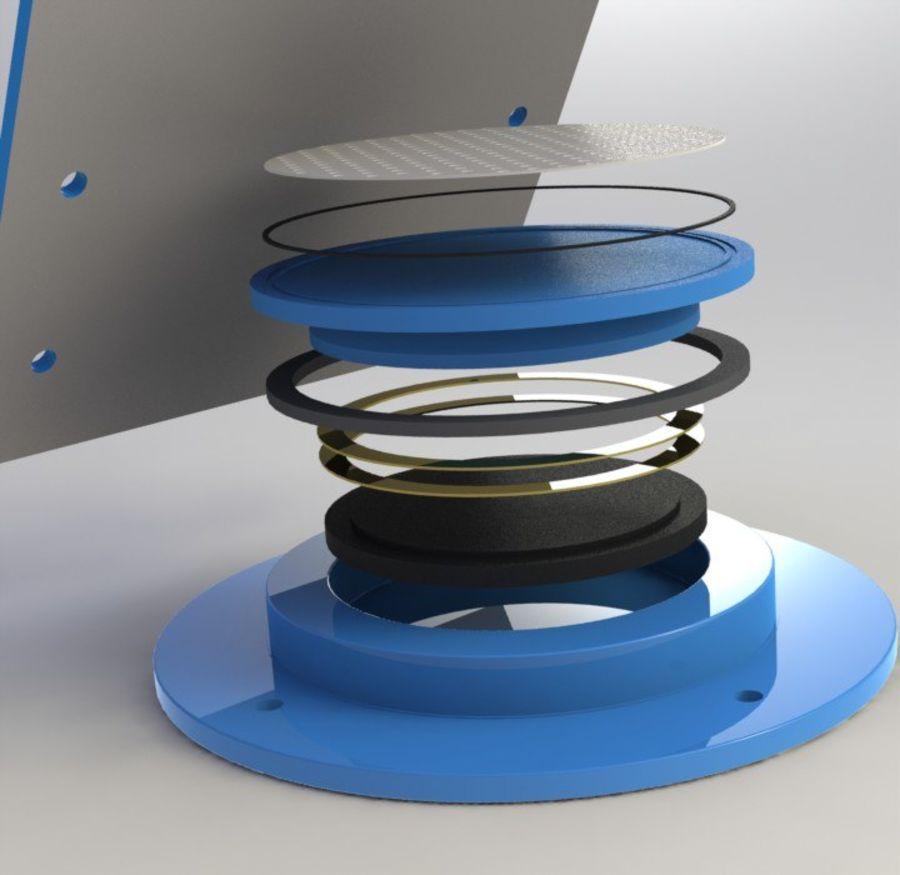 ROLAMENTO DE POTÊNCIA - TIPO GRATUITO royalty-free 3d model - Preview no. 3