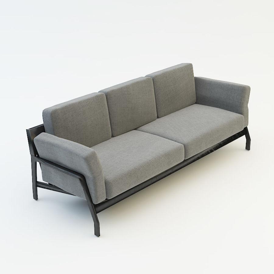 коллекция мебели (2) royalty-free 3d model - Preview no. 7
