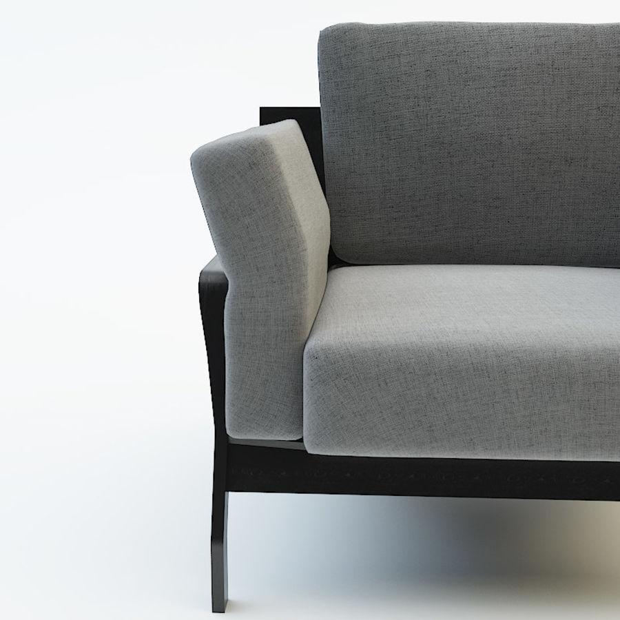 коллекция мебели (2) royalty-free 3d model - Preview no. 8