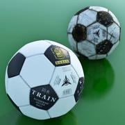 Classic Soccer Ball 3d model