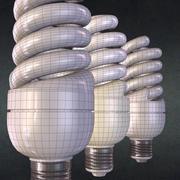 Lampada a risparmio energetico 3d model