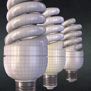 Energy saving lamp 3d model