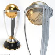 Cricket Trophy 3d model
