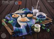 Food_set1 3d model