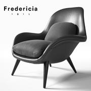 Fredericia Swoon 3d model