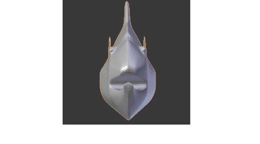 pesce esotico del fumetto royalty-free 3d model - Preview no. 2