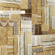 Painting. Wood. Panel. arving 3d model